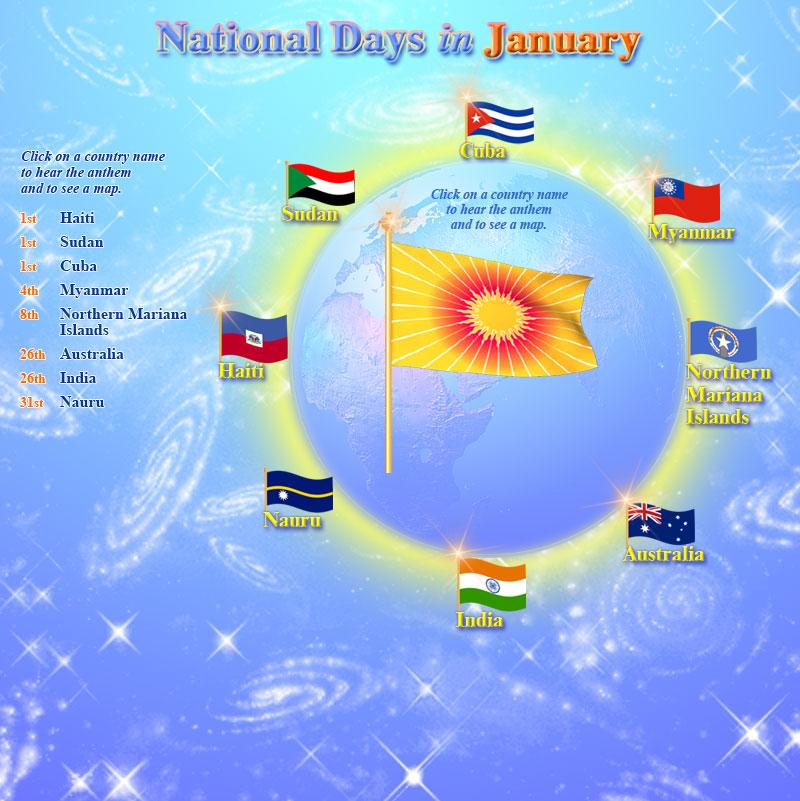 january national days